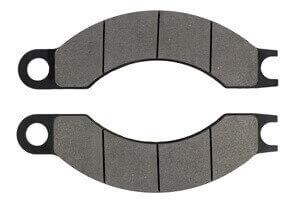 Brake Pads for Volvo, Caterpillar, Moxy, JCB, Terex and Kato vehicles